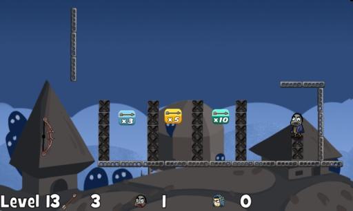 粉碎僵尸城堡截图1