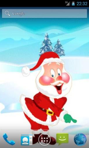 庆祝圣诞老人动态壁纸 個人化 App-癮科技App