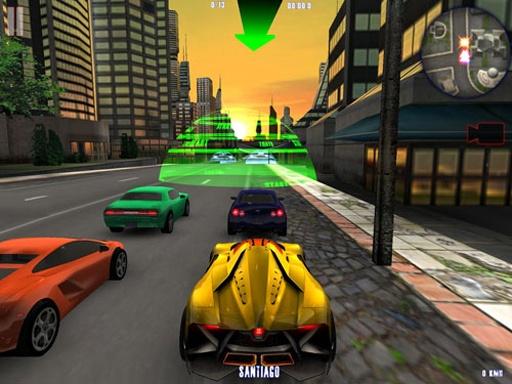 城市疯狂赛车截图1
