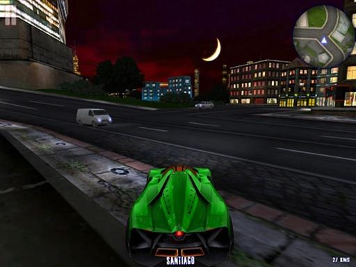 城市疯狂赛车截图3