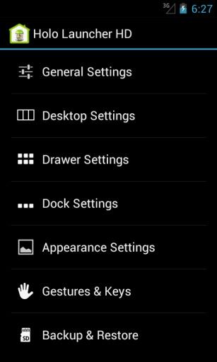 Holo桌面启动器 高清版截图4