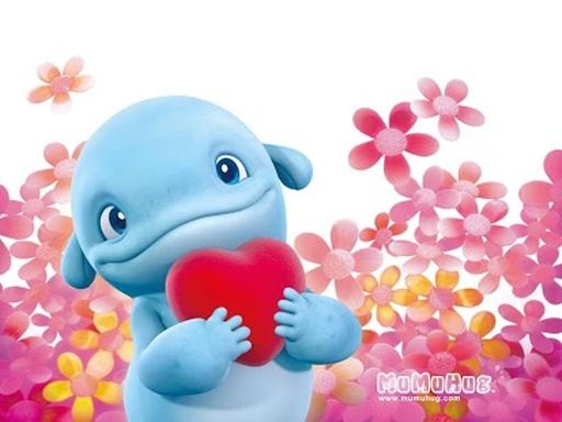 超萌可爱卡通鱼海豚