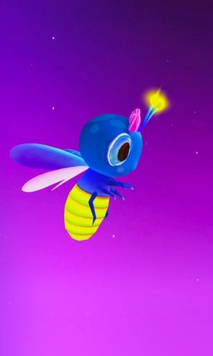 萤火虫3D壁纸