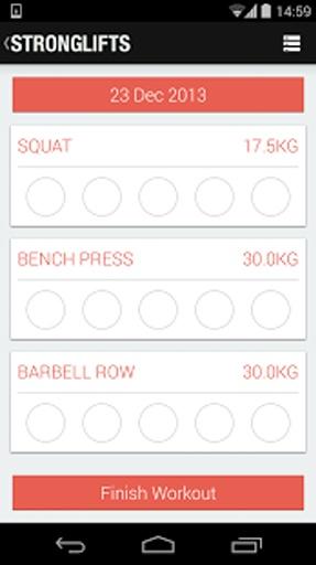5x5肌肉锻炼