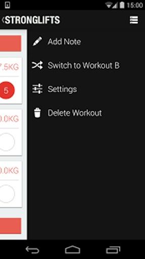 【免費生產應用App】5x5肌肉锻炼-APP點子
