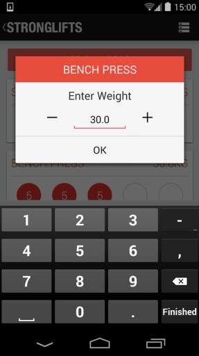 5x5肌肉锻炼|玩生產應用App免費|玩APPs