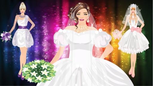 现代新娘装扮游戏截图1