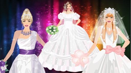 现代新娘装扮游戏截图10