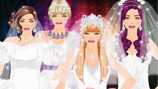 现代新娘装扮游戏截图2