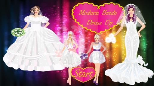现代新娘装扮游戏截图9