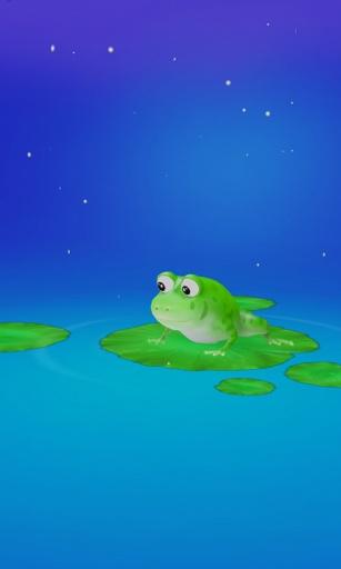 小青蛙3D壁纸