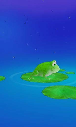 【免費個人化App】小青蛙3D壁纸-APP點子
