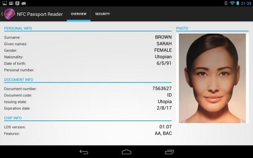 NFC Passport Reader截图10