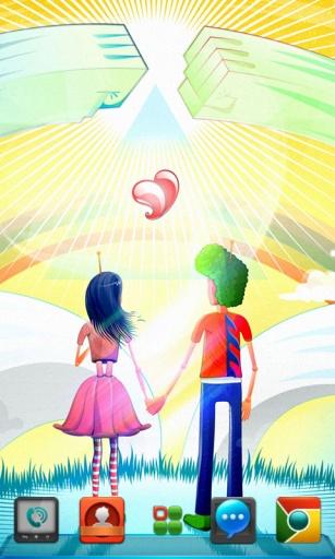 宝软3D主题-2013又相信爱情了