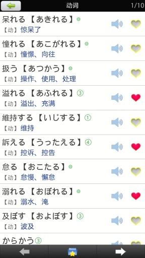 日语N2单词速记截图1