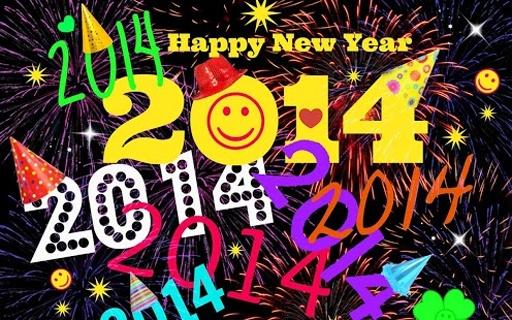 2014新年快乐贺卡