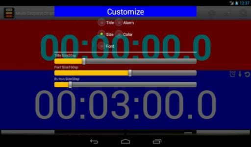 多秒表和计时器截图4