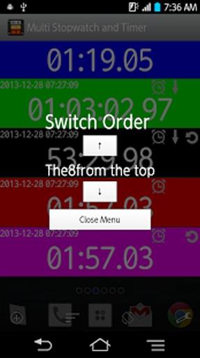 多秒表和计时器截图6