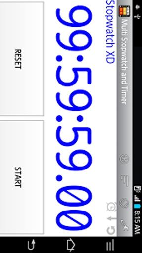 多秒表和计时器截图9