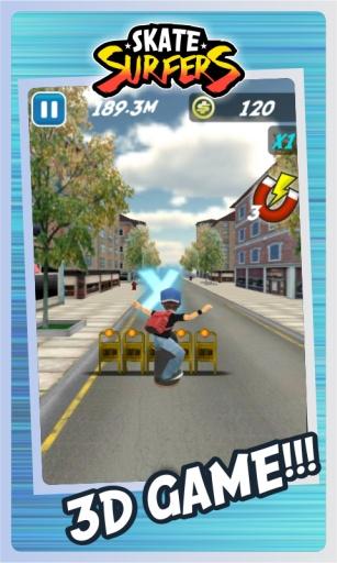 玩免費動作APP|下載滑板极限跑酷3D app不用錢|硬是要APP