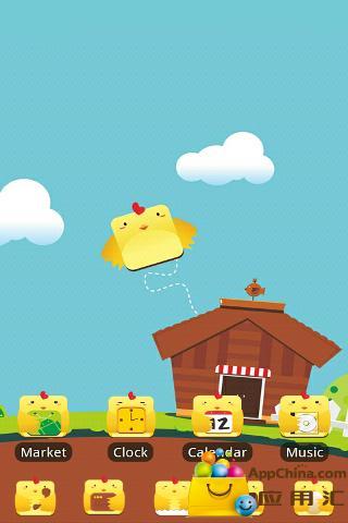 小鸡快跑ZT主题壁纸