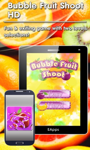 Bubble Fruit Shoot HD