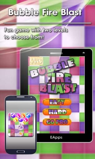 Bubble Fire Blast
