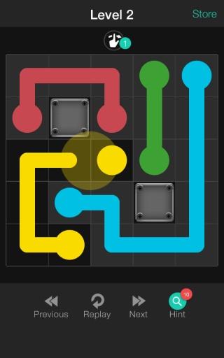 方块连线截图0