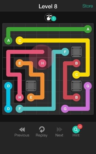 方块连线截图2