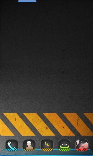 宝软3D主题-黄色禁区截图1