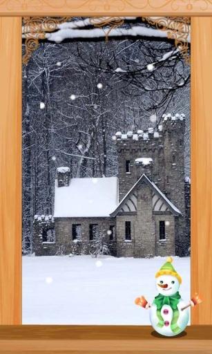 冬日小屋主题(锁屏桌面壁纸)截图2