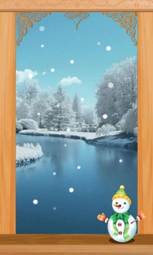 FUN主题_冬日湖畔_锁屏壁纸