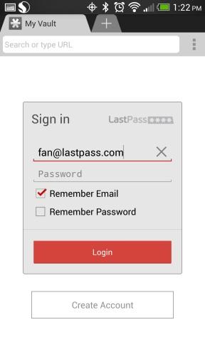 LastPass密碼管理器