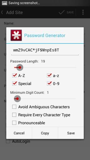 LastPass密码管理器截图1