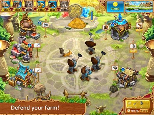 【免費模擬App】疯狂农场:维京英雄 完整版-APP點子