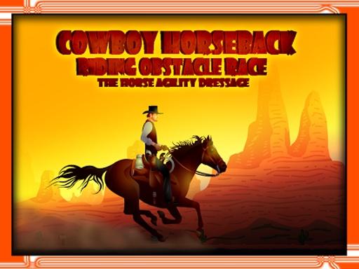 牛仔骑马比赛