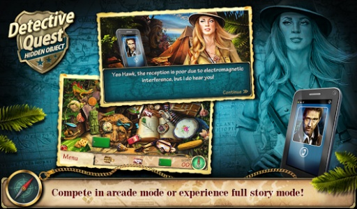 Hidden Object Detective Quest截图1