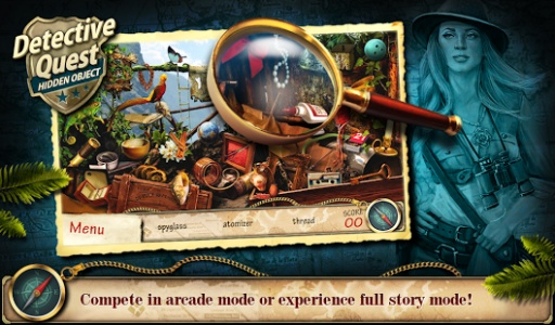 Hidden Object Detective Quest截图2