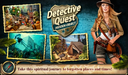 Hidden Object Detective Quest截图3