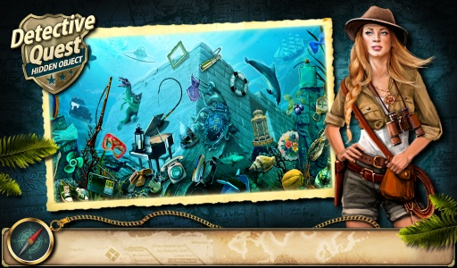 Hidden Object Detective Quest截图5