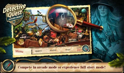 Hidden Object Detective Quest截图7