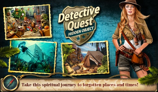 Hidden Object Detective Quest截图8