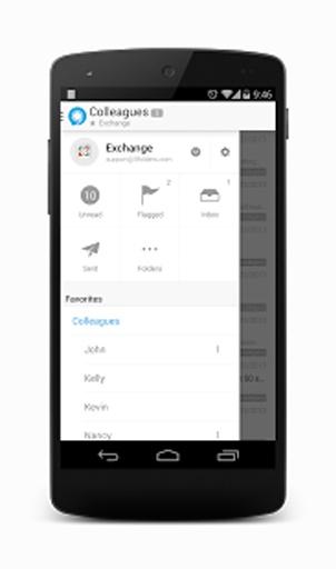 Nine - Exchange ActiveSync截图1