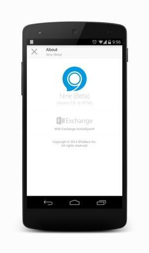Nine - Exchange ActiveSync截图10