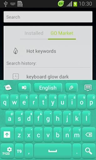 绿色的键盘皮肤