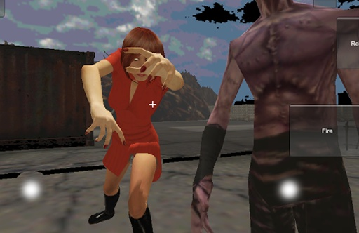 僵尸杀人货币3D拍摄
