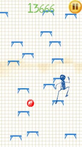 火柴人跳跃 動作 App-癮科技App