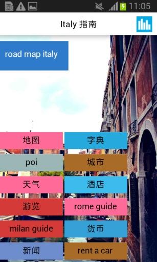 意大利离线地图截图0