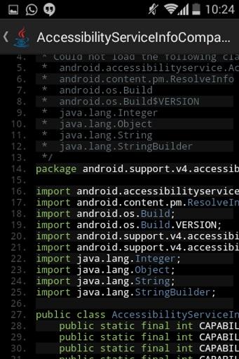 Show Java - A Java Decompiler截图1