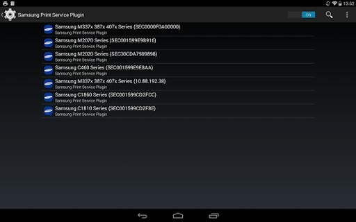 Samsung Print Service Plugin截图1